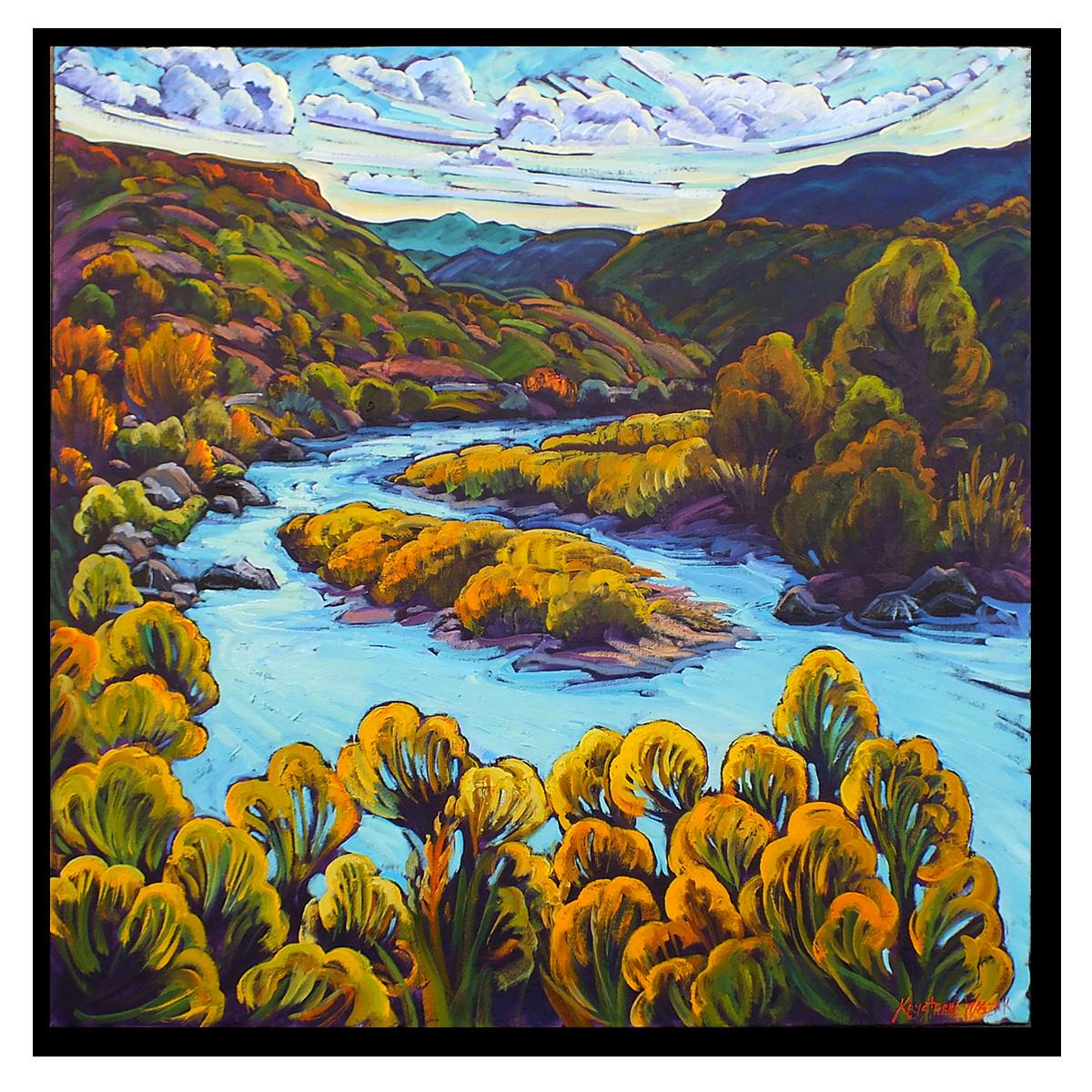 The Rio Grande in Autumn