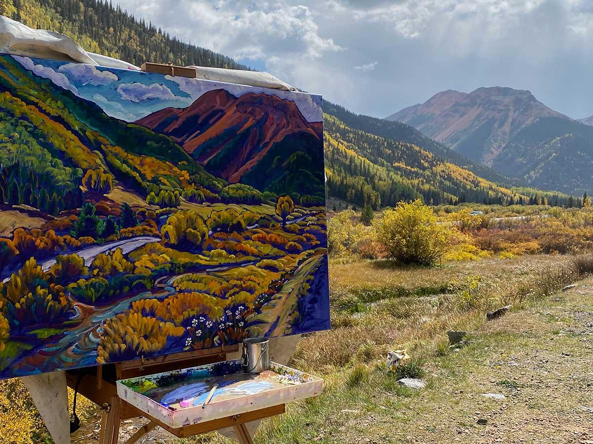 Grande Mesa National Park, Crystal Lake, Ridgway, CO, Krysteen Waszak Art