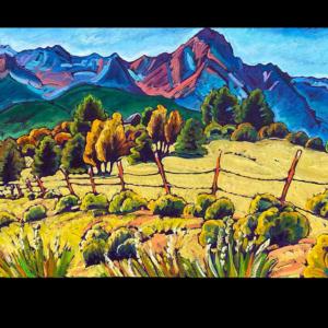 The Sneffles Range, Ridgway, CO