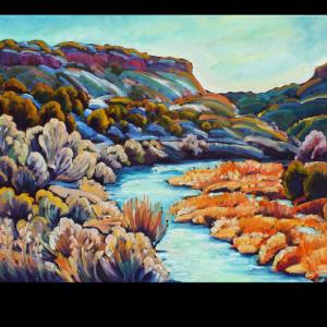 The Winter River (Rio Grande)